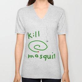 Kill mosquito Unisex V-Neck