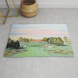 Bethpage State Park Golf Course Rug