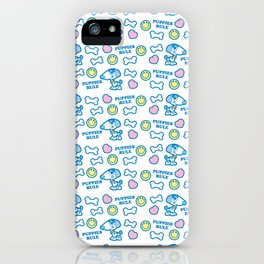 Puppies Rule Pattern iPhone Case