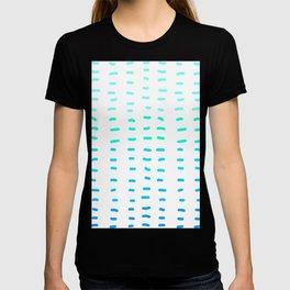 Fiesta at Festival - White & Turquoise T-shirt