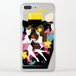 Flavorful Orgasms Clear iPhone Case