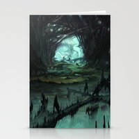 starcraft Stationery Cards featuring From Hell to Heaven through the tree of knowledge by Rafael Falconi