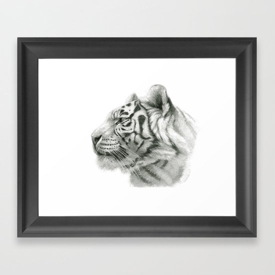 Tiger G2012-048 Framed Art Print