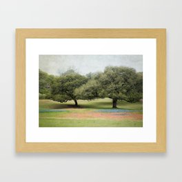 Hillcountry Bluebonnets Framed Art Print