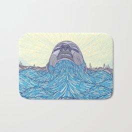 Ocean Face Bath Mat