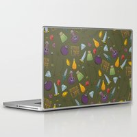 rogue Laptop & iPad Skins featuring Rogue Life by Tay Silvey