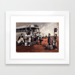 memory1 Framed Art Print
