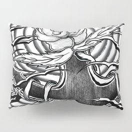 Rose and anchor Pillow Sham