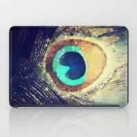 feather iPad Cases featuring Peacock Feather  by Love2Snap