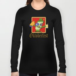 Oktoberfest Cartoon Long Sleeve T-shirt