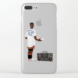 Do the Right Thing - Mookie Clear iPhone Case
