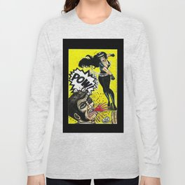 Bad Girls of Motion Pictures #3 - Varla Long Sleeve T-shirt