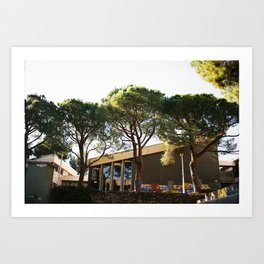 Sunny days in the south of France  Art Print