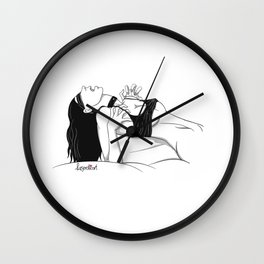 Clothed Scream 02 Wall Clock