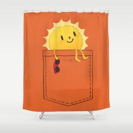 Pocketful of sunshine Shower Curtain