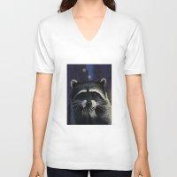 tomb raider V-neck T-shirts featuring Urban raider by Carl Conway