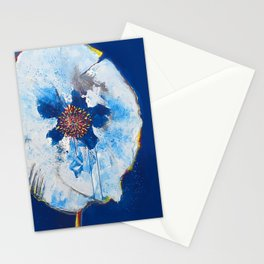 Life in Blue  Stationery Cards