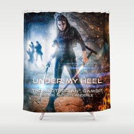 Under My Heel Shower Curtain