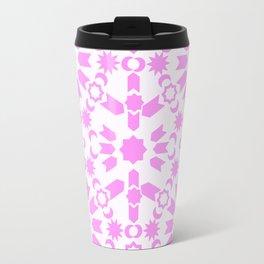 Pink Arabesque Travel Mug