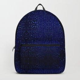 Blue rain Backpack