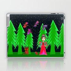 Night Fairy | Before Christmas | Kids Painting Laptop & iPad Skin