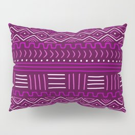 Mudcloth in Pinks Pillow Sham