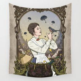 Mary Poppins 1964 Wall Tapestry