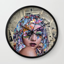 Knockout Wall Clock