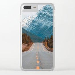 Roadtrip to Nature Clear iPhone Case