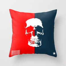 Democracy Throw Pillow