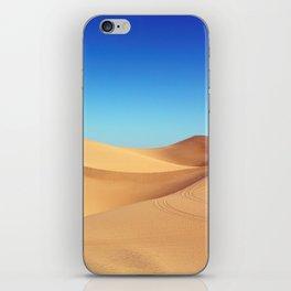 Scenic Sahara sand desert nature landscape iPhone Skin