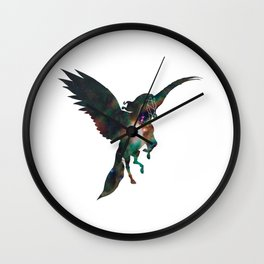 Galaxy Pegasus Wall Clock