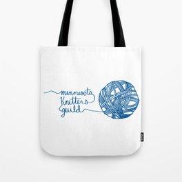 MKG Yarn - Blue Tote Bag
