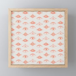 Many Eyes Framed Mini Art Print
