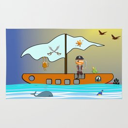 The Pirate Rug