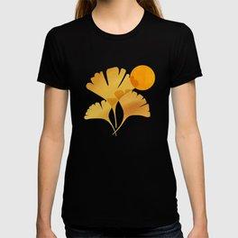 Abstraction_SUN_Ginkgo_Minimalism_001 T-shirt