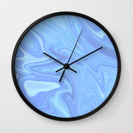 Silky Marble Wall Clock