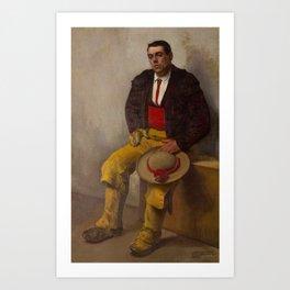 El Picador - Diego Rivera Art Print