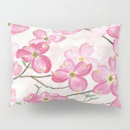 Pink Dogwood Pillow Sham
