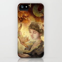 Silent Visions iPhone Case