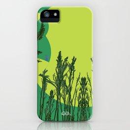 Grassy Sunset. iPhone Case