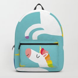 Happy Unicorn for All Backpack