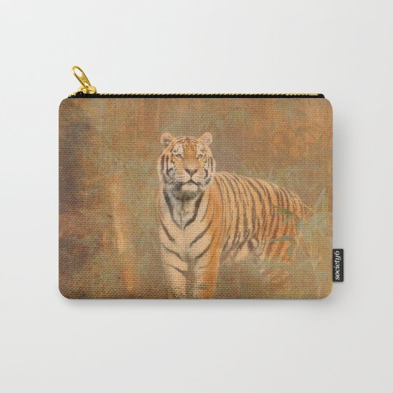 Tiger Art Carry-All Pouch