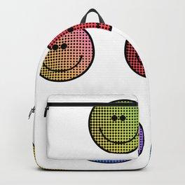 Emoji - Smile Faces - Smiley Faces - Acid House Backpack