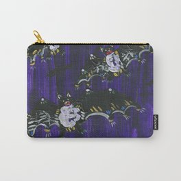 Black Bats Carry-All Pouch