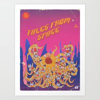 Tales From Space Art Print