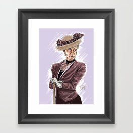 The Countess Framed Art Print