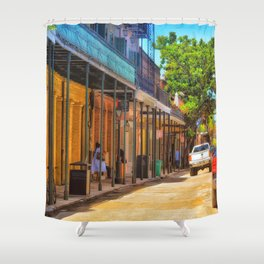 Sun Soaked New Orleans Shower Curtain