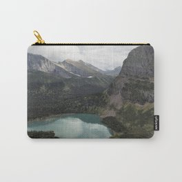 Grinnell Lake from the Trail No. 2 - Glacier NP Carry-All Pouch