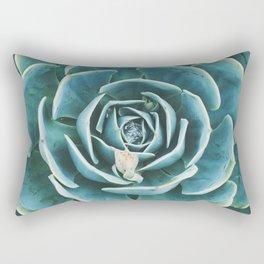 desert. echeveria Rectangular Pillow